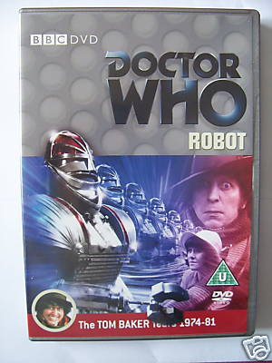 Doctor Who Robot   DVD