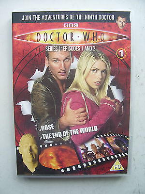 Doctor Who Series 1 Episodes 1 & 2  DVD  Christopher Eccleston
