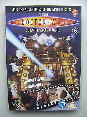 Doctor Who Series 1 Episodes 11 & 12  DVD  Christopher Eccleston