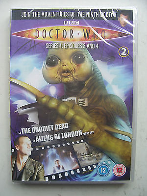 Doctor Who Series 1 Episodes 3 & 4  DVD  Christopher Eccleston  NEW