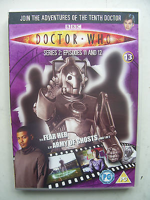 Doctor Who Series 2 Episodes 11 & 12  DVD David Tennant