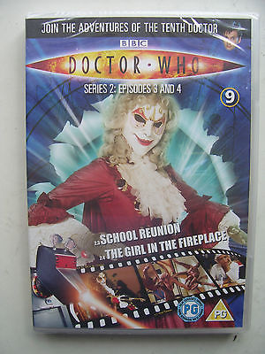 Doctor Who Series 2 Episodes 3 & 4  DVD David Tennant SEALED