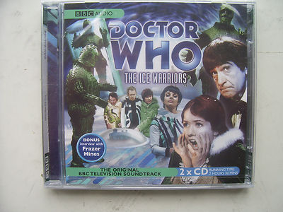 Doctor Who The Ice Warriors CD Audio Soundtrack NEW