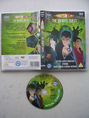 Doctor Who The Infinite Quest DVD David Tennant
