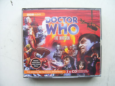 Doctor Who The Invasion CD  Soundtrack Patrick Troughton
