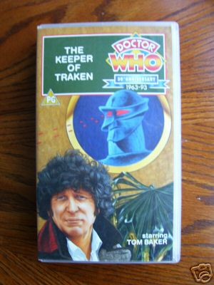 Doctor Who  The Keeper of Traken.....RARE