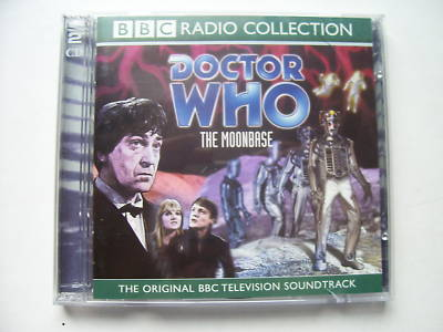Doctor Who The Moonbase CD Audio Soundtrack