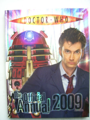 Doctor Who The Official Annual 2009 Tennent