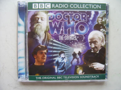 Doctor Who The Savages CD  Soundtrack William Hartnell