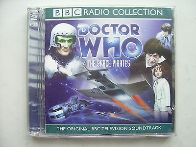 Doctor Who The Space Pirates  CD Audio Soundtrack Patrick Troughton