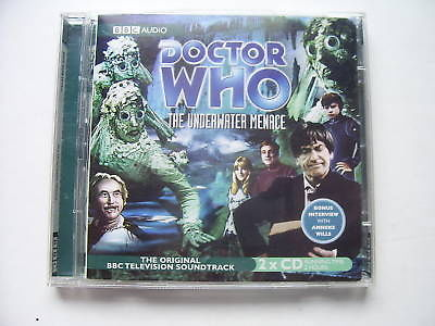 Doctor Who The Underwater Menace CD Audio Soundtrack Patrick Troughton