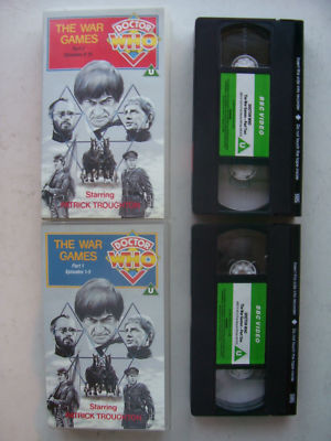 Doctor Who The War Games Rare