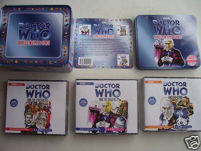 Doctor Who Travels in Time & Space  CD Limited Tin Set