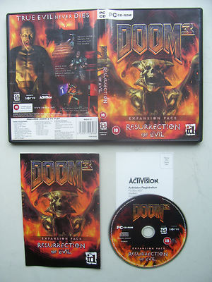Doom 3 Resurrection of Evil Expansion Pack PC