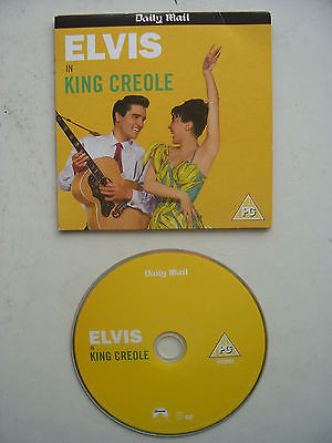 Elvis Presley King Creole DVD Originally Released  by the Daily Mail