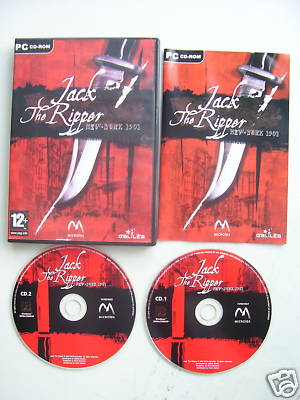 Jack the Ripper PC Very Rare Game