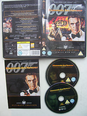 James Bond Diamonds are Forever  Ultimate Edition 2 DVD Set