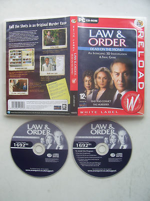 Law and Order Dead on the Money  PC 99p!