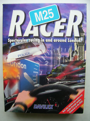 M25 Racer  PC Big Box Edition Rare