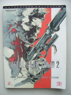 Metal Gear Solid 2 Game Strategy Guide