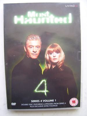 Most Haunted  Series 4 Volume 1  DVD Set