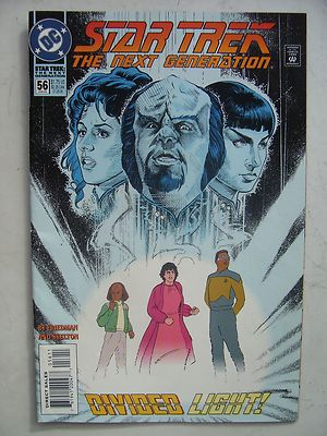 Star Trek The Next Generation  DC  Comic Issue 56 Very Rare