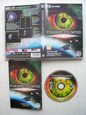 Starships Unlimited Divided Galaxies  PC  Rare