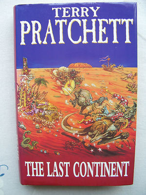 Terry Pratchett The last Continent Hardback