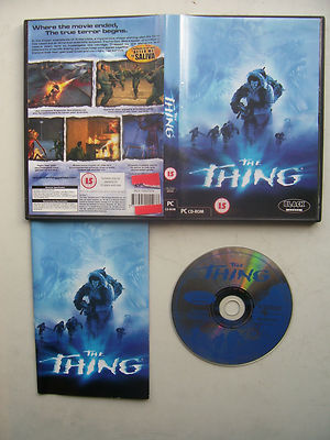 The Thing  PC Rare Original Release
