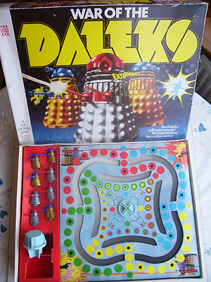 War of the Daleks Game 1970s (Very Very Rare)