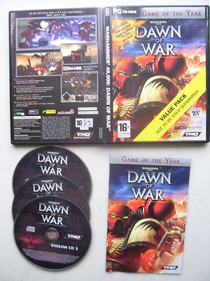Warhammer 40000 Dawn of War PC Game