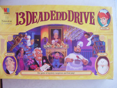 13 Dead End Drive Game By MB 1994