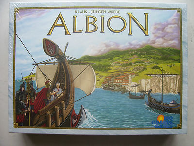Albion Game Klaus - Jurgen Wrede  Rio Grande Games New and Sealed Very Rare