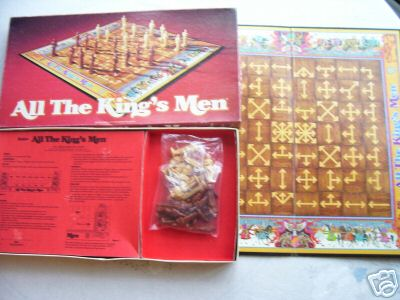 All The King's Men...By Parker 1979 (RARE)
