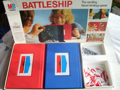 Battleships Game by MB 1983