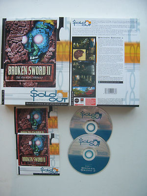 Broken Sword  2 The Smoking Mirrior  PC Big Box Edition