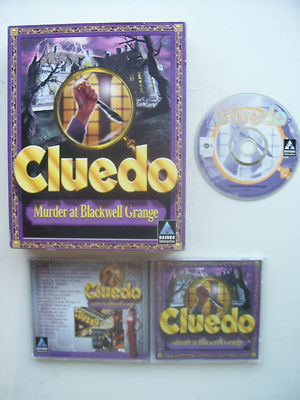 CLUEDO Murder at Blackwell Grange PC Big Box Edition