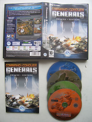 Command and Conquer Generals Deluxe Edition  PC