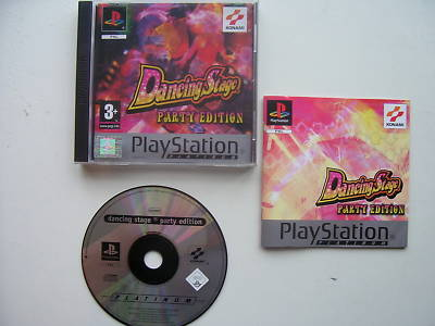 Dancing Stage Party Edition   PS1 / 2 ... RARE