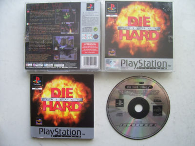 Die Hard Trilogy PS1 / 2