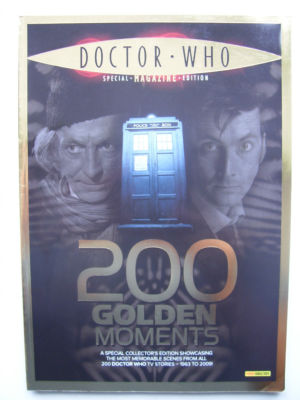 Doctor Who 200 Golden Moments  Very Rare
