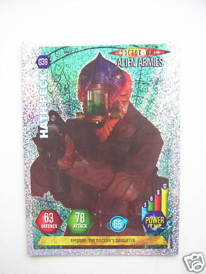 Doctor Who Alien Armies Hath Peck G39 Card
