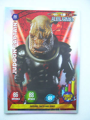 Doctor Who Alien Armies Judoon Captain F9 Card