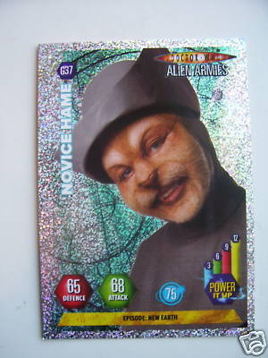 Doctor Who Alien Armies Novice Hame G37 Card