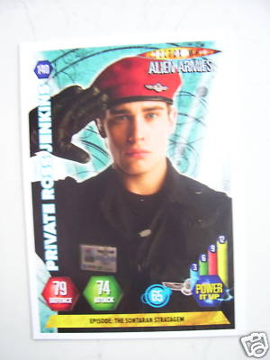 Doctor Who Alien Armies Private Ross Jenkins 140 Card