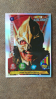 Doctor Who Alien Armies Super Foil Cards