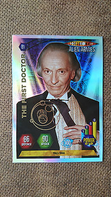 Doctor Who Alien Armies Super Foil Emboss Cards