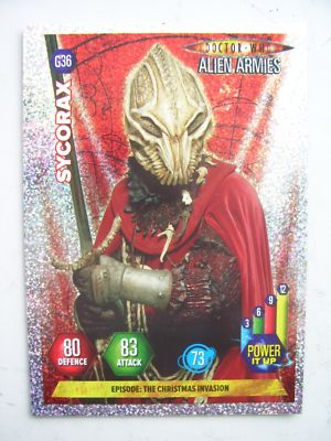 Doctor Who Alien Armies Sycorax G36 Card