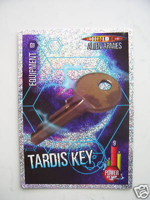 Doctor Who Alien Armies Tardis Key G9 Card