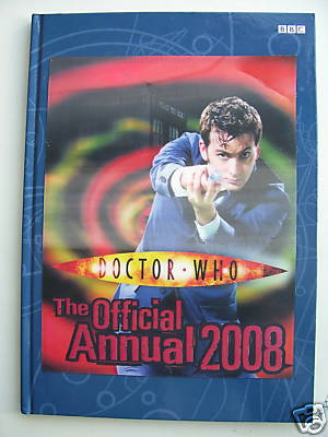 Doctor Who Annual 2008 HOLOGRAM FRONT EDITION